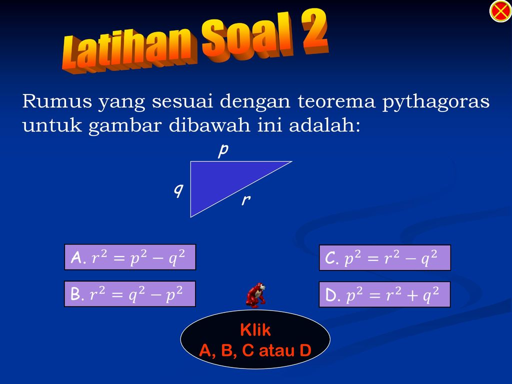 Menu Teorema Pythagoras Ppt Download