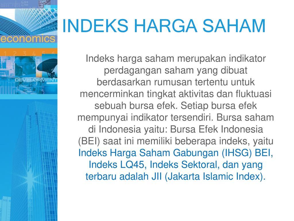 indikator perdagangan saham