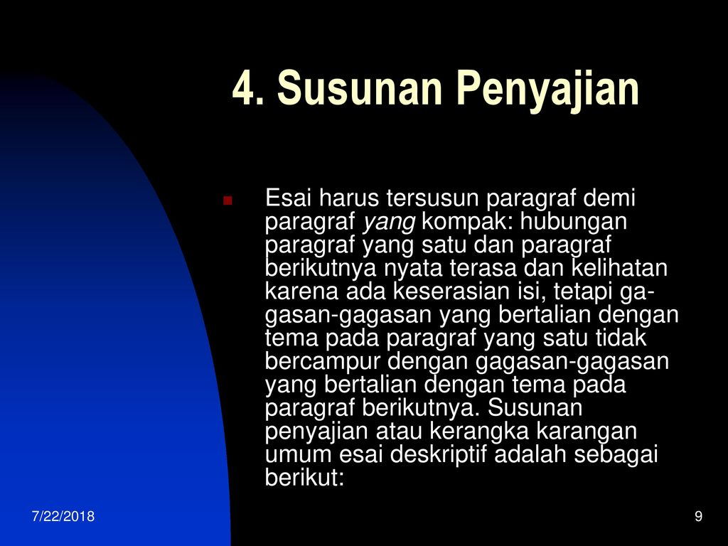Esai Deskripsi Lukisan Ppt Download