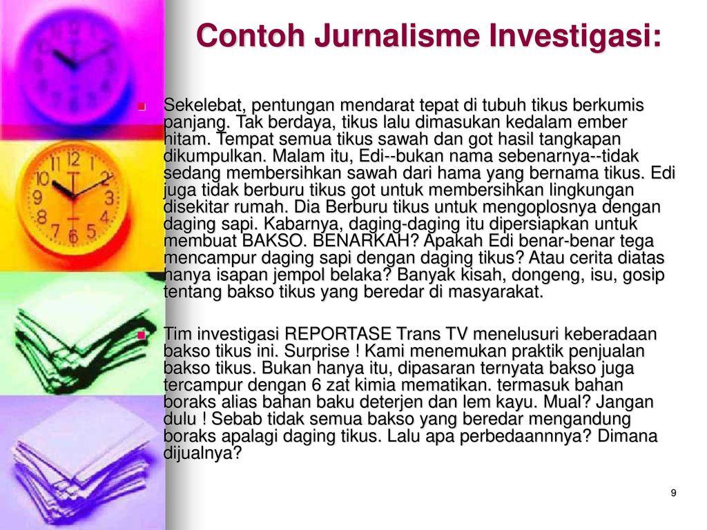 Contoh Laporan Jurnalistik Guru Paud