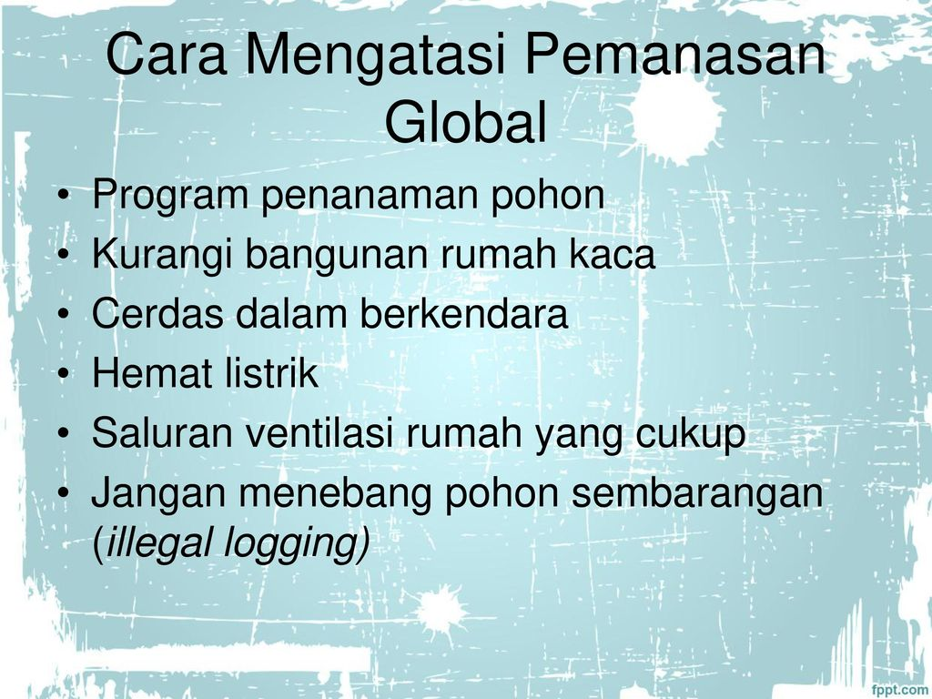 Pemanasan Global Global Warming Ppt Download