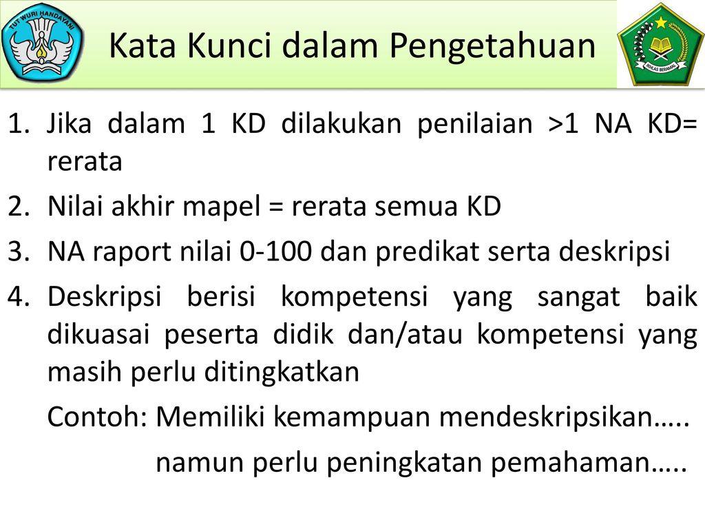 Pengembangan Penilaian Pai Ppt Download