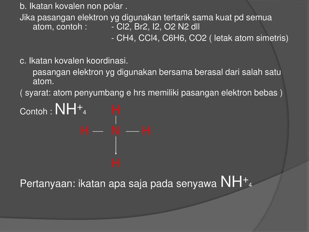 Ikatan Kimia Ppt Download