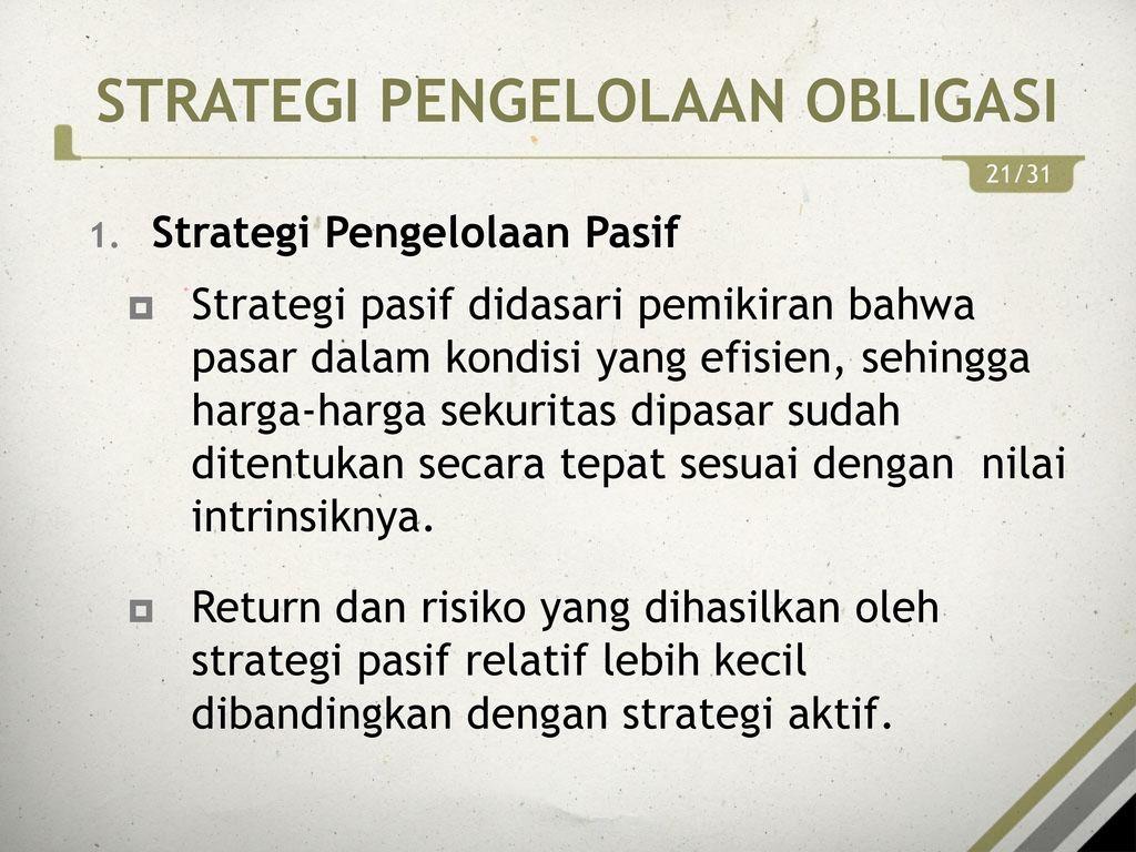 Investor Aktif vs Investor Pasif: Investor Tipe Manakah Anda?