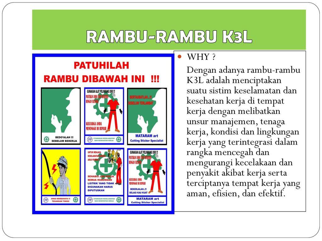 Rambu Rambu Keselamatan Kerja Ppt Download