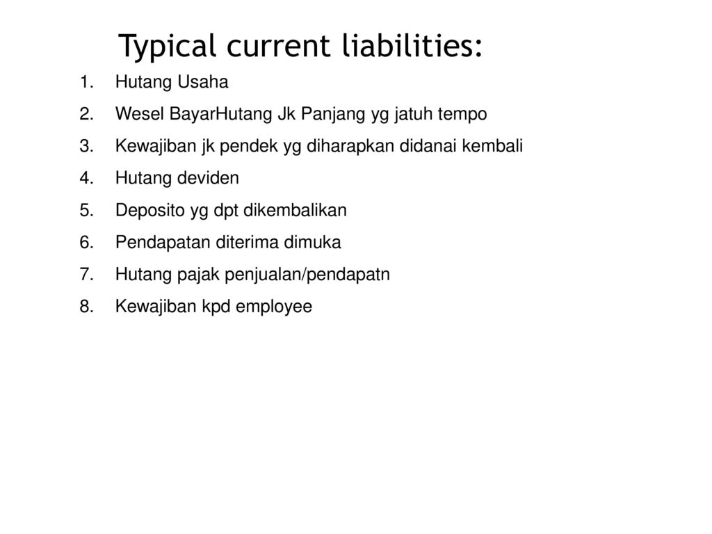 Current Liabilities And Contingencies Ppt Download