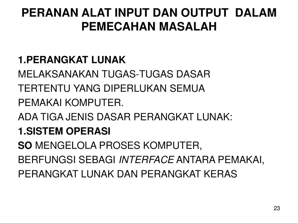 Dasar Dasar Proses Komputer Ppt Download