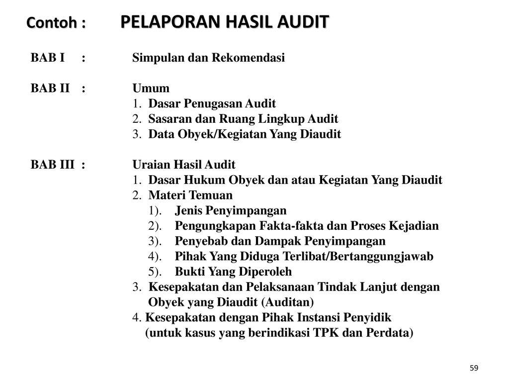Investigasi Dengan Teknik Audit Ppt Download