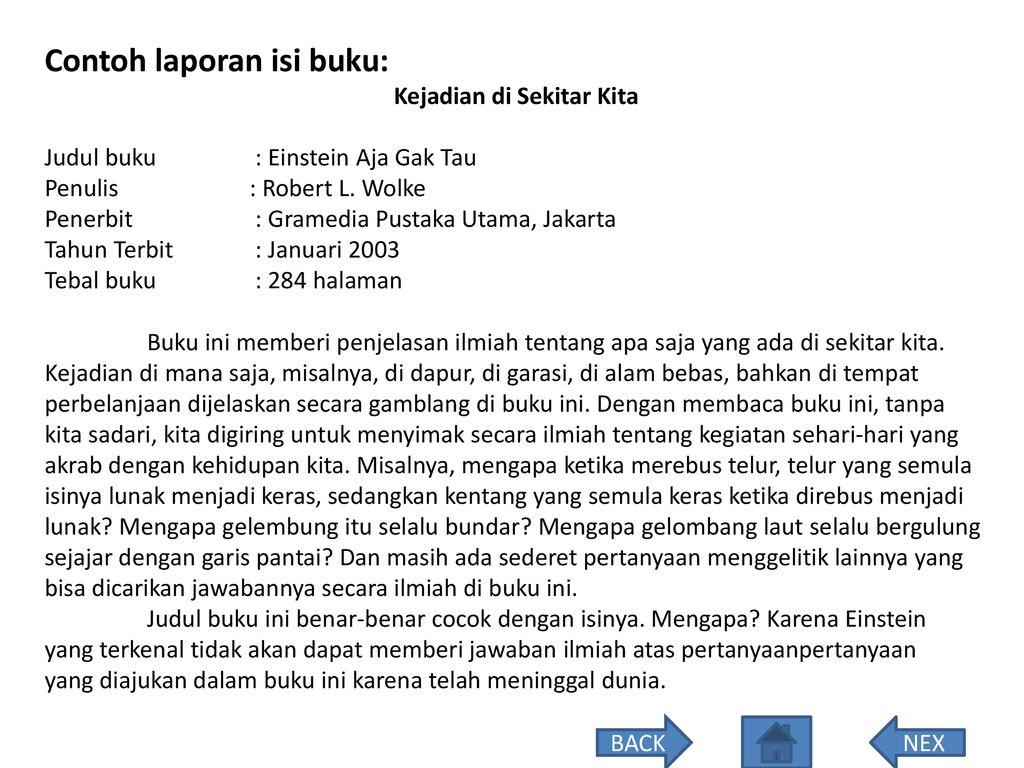 Bahan Ajar Bahasa Indonesia Kelas Vi Semester Ii Ppt Download