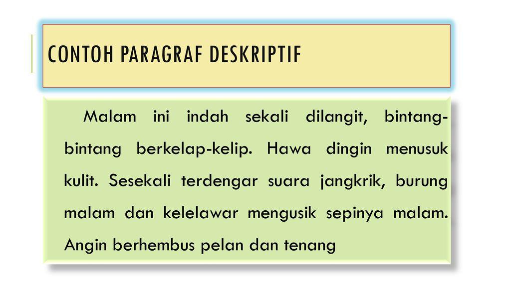Paragraf Deskriptif Ade Novia B Ppt Download