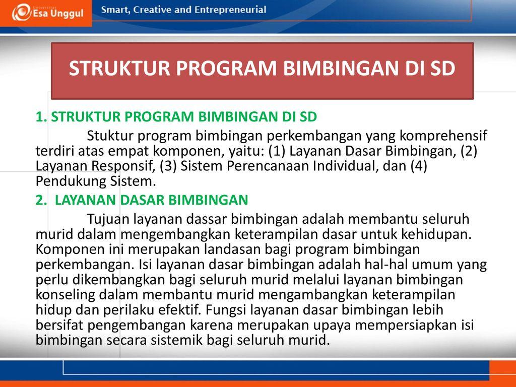 Managemen Dan Program Bk Di Sd Ppt Download