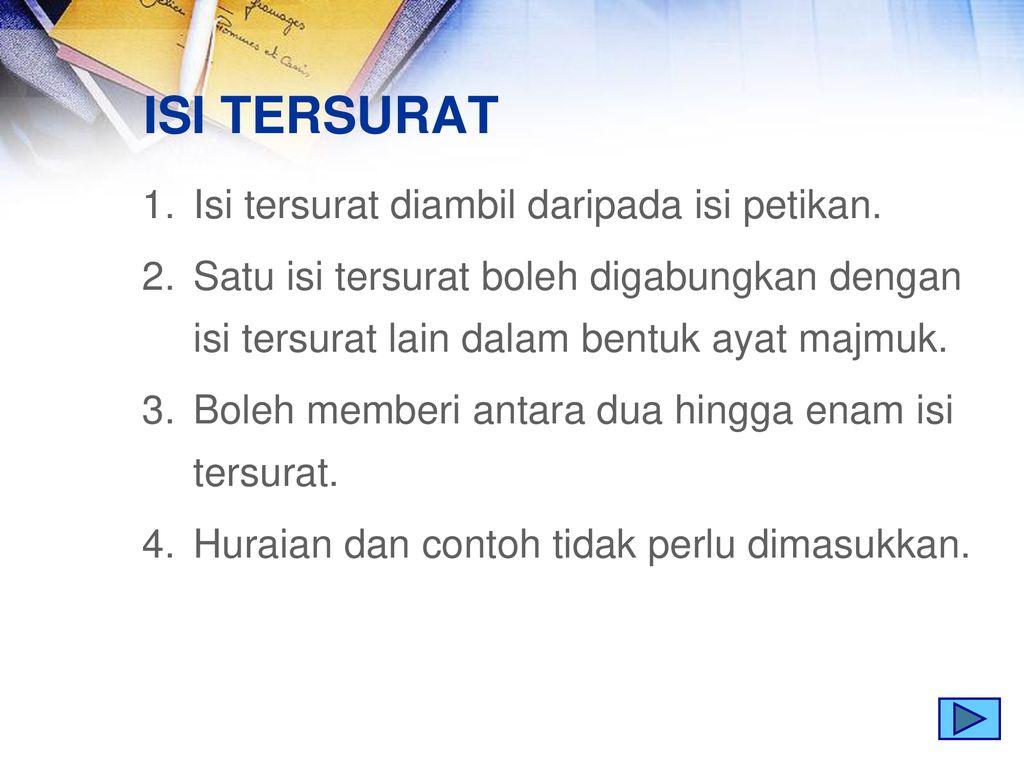 Bahasa Melayu Tahun Ppt Download