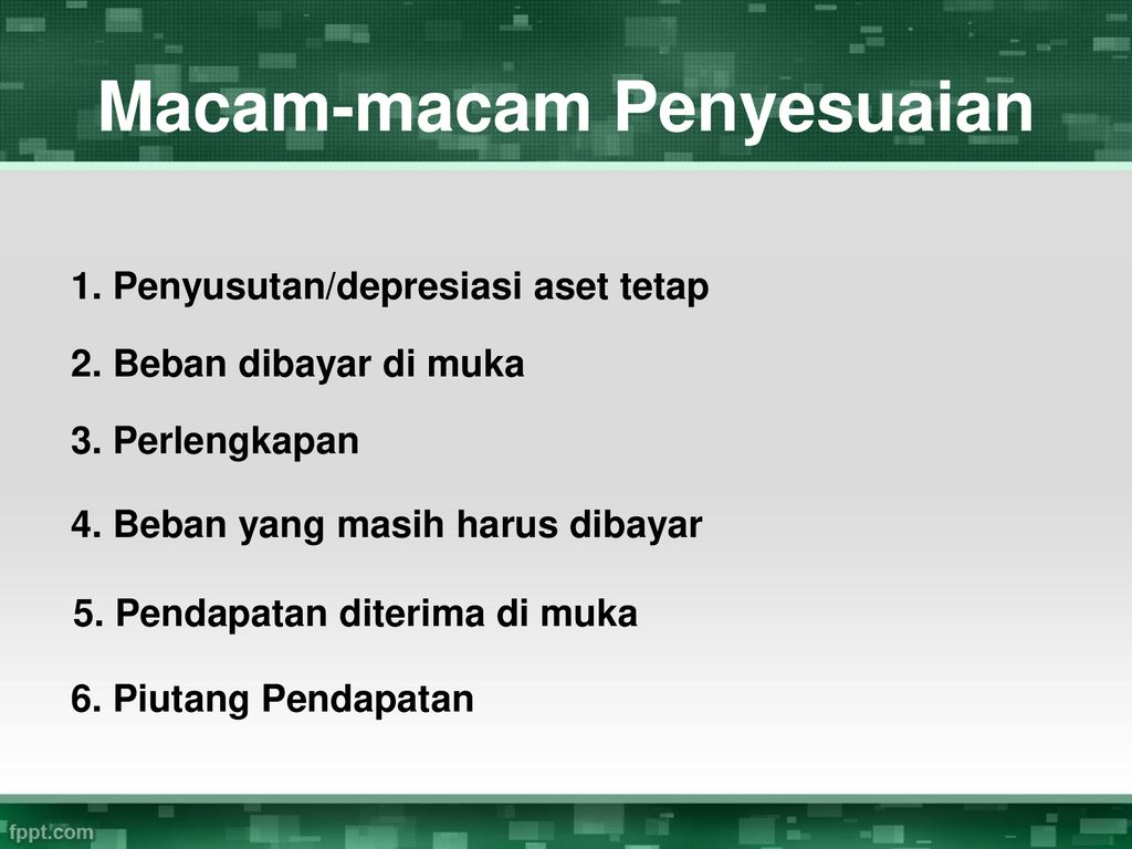 Jurnal Penyesuaian Ppt Download