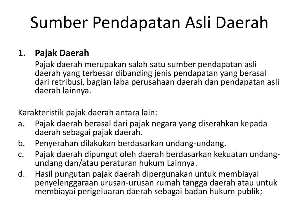 Keuangan Pemerintah Daerah di Indonesia - ppt download