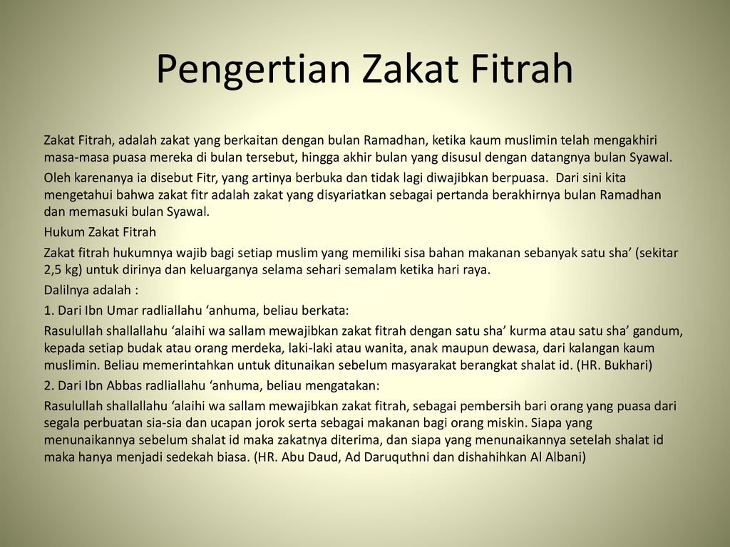zakat fitrah ppt download zakat fitrah ppt download