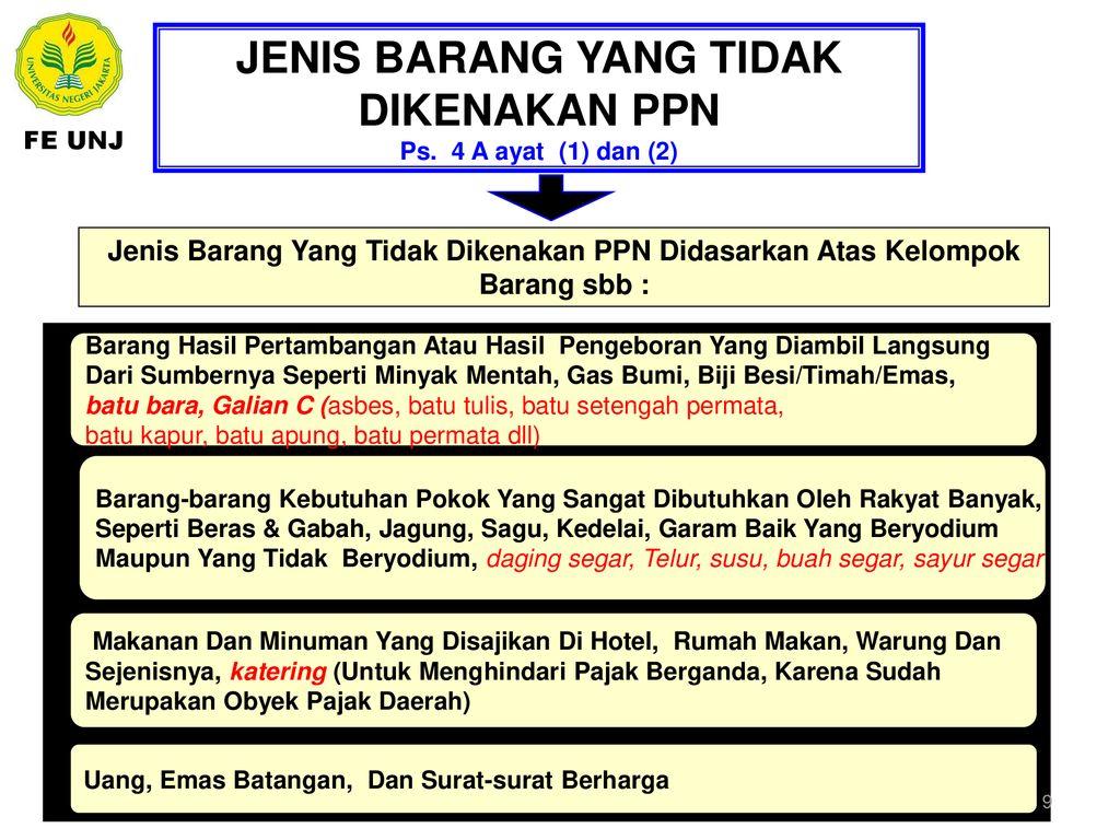 Ppn Pajak Pertambahan Nilai Ppt Download