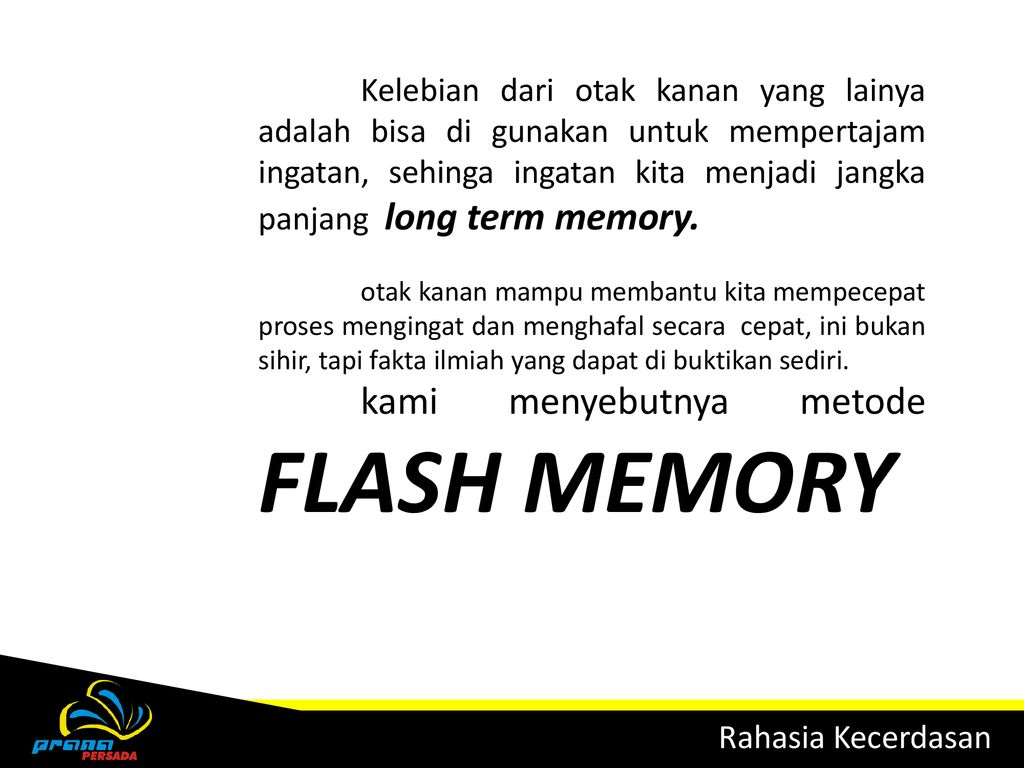 Flash download otak ebook kanan memory