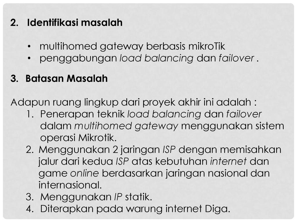 S1/TI/7B/MALAM JARINGAN KOMPUTER 3 - ppt download
