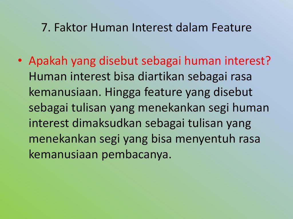 Artikel Feature Dan Esai Ppt Download