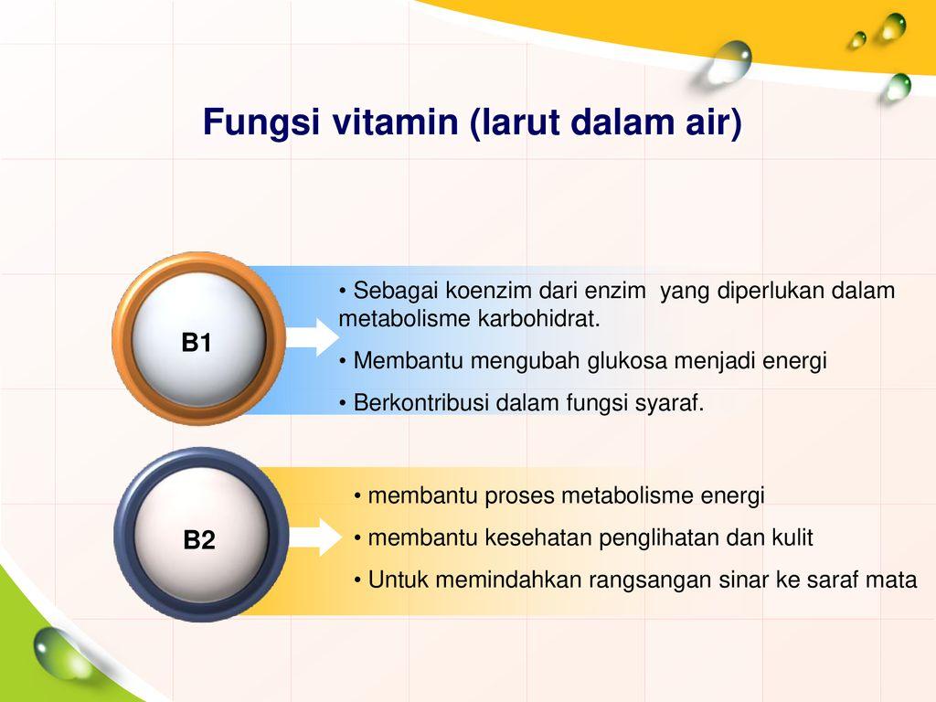 Vitamin Kelompok 5 Anugrah Nurfadillah F1c114060 Ppt Download
