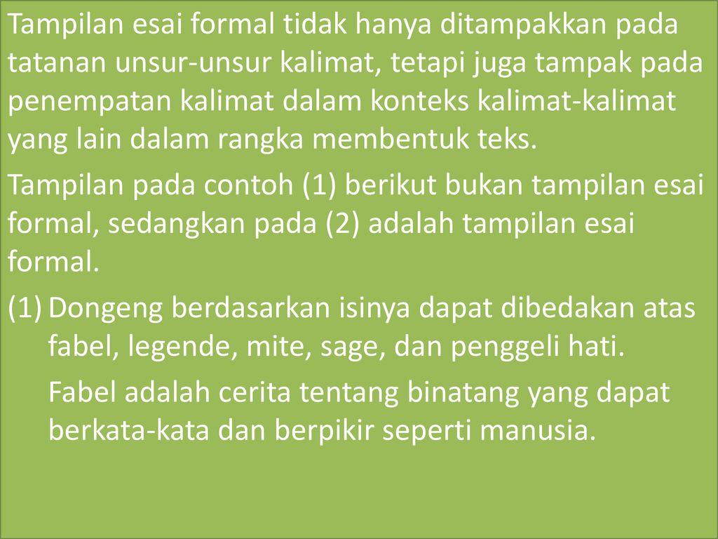 Pemakaian Bahasa Indonesia Dalam Karya Ilmiah Ppt Download