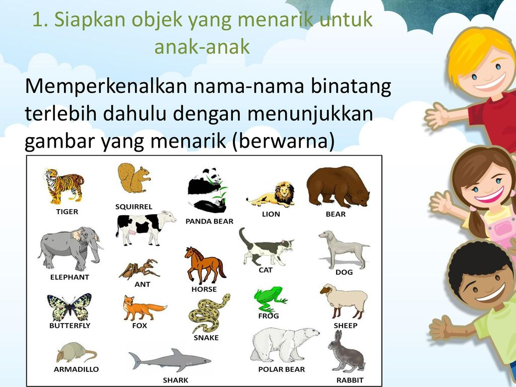 720 Koleksi Gambar Hewan Berwarna Untuk Anak Tk Gratis Terbaik