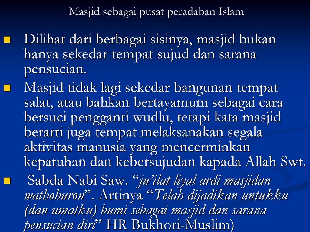 ISLAM DAN KEBUDAYAAN  ISLAM DAN KEBUDAYAAN Pengertian, Unsur