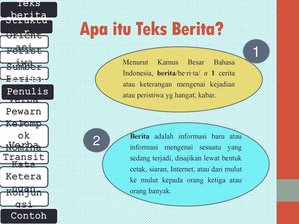 Struktur Dan Kaidah Penulisan Teks Berita Ppt Download