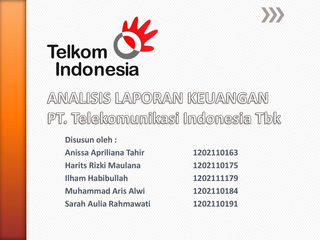 Analisis Laporan Keuangan Pt Telekomunikasi Indonesia Tbk Ppt Download