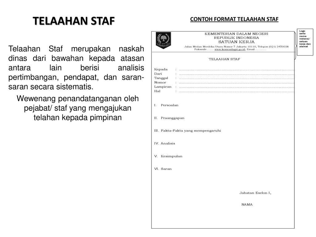 Tata Naskah Dinas Di Lingkungan Pemerintah Daerah Ppt Download