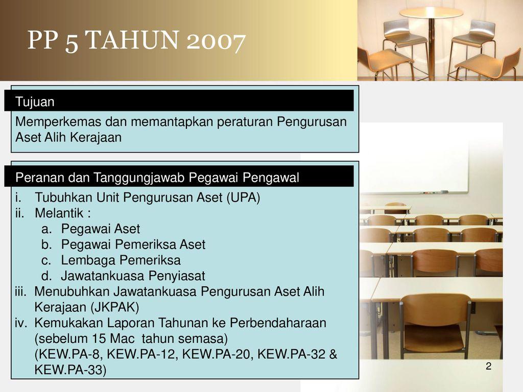 Tatacara Pengurusan Aset Alih Kerajaan Ppt Download