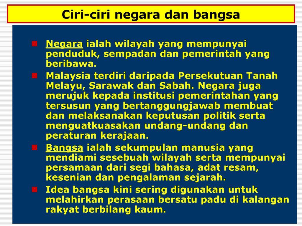 Konsep Negara Bangsa Dalam Sistem Politik Melayu Tradisional Ppt Download