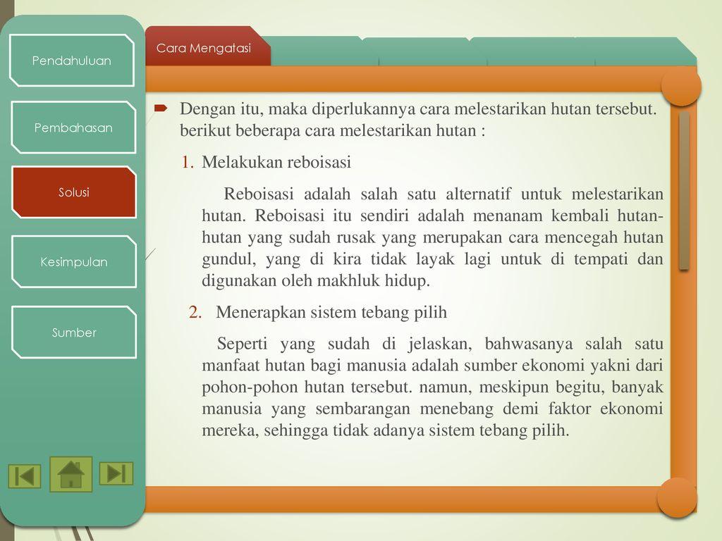 Hutan Kalimantan Timur - ppt download