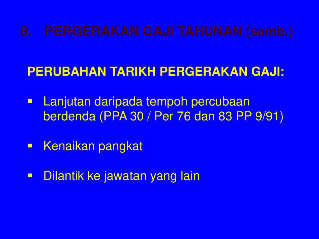 Peraturan Peraturan Pegawai Awam Ppt Download