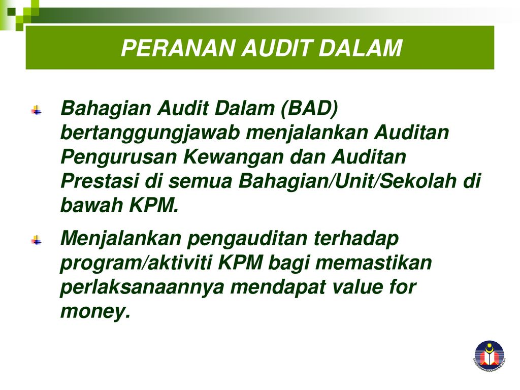 Pendekatan Audit Dalam Pengurusan Asrama Ppt Download