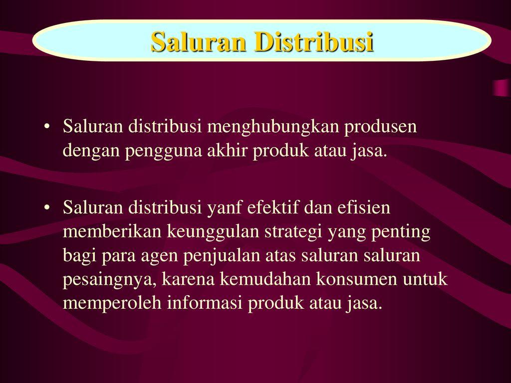 8 9 Distribusi Dan Promosi Ppt Download