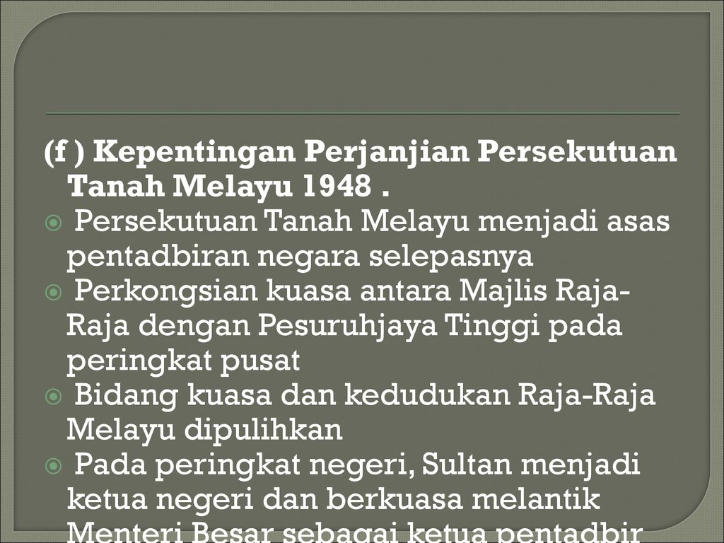 Bab 4 Pembinaan Negara Dan Bangsa Malaysia Ppt Download