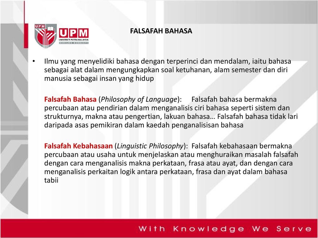 Ilmu Pengetahuan Dan Falsafah Ppt Download