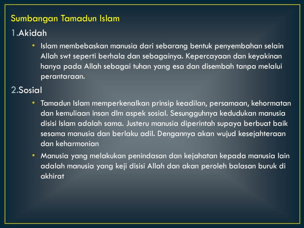 Aspek Keterbukaan Dalam Tamadun Islam   xloimsei