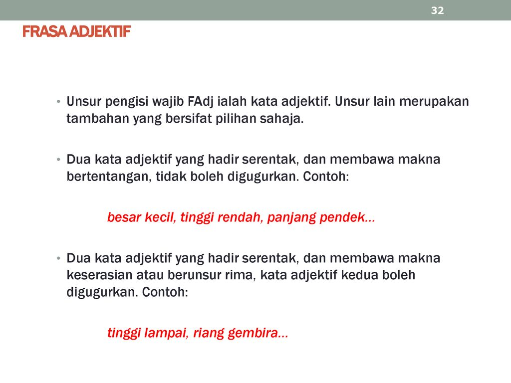 Frasa Nama Dan Frasa Adjektif Ppt Download
