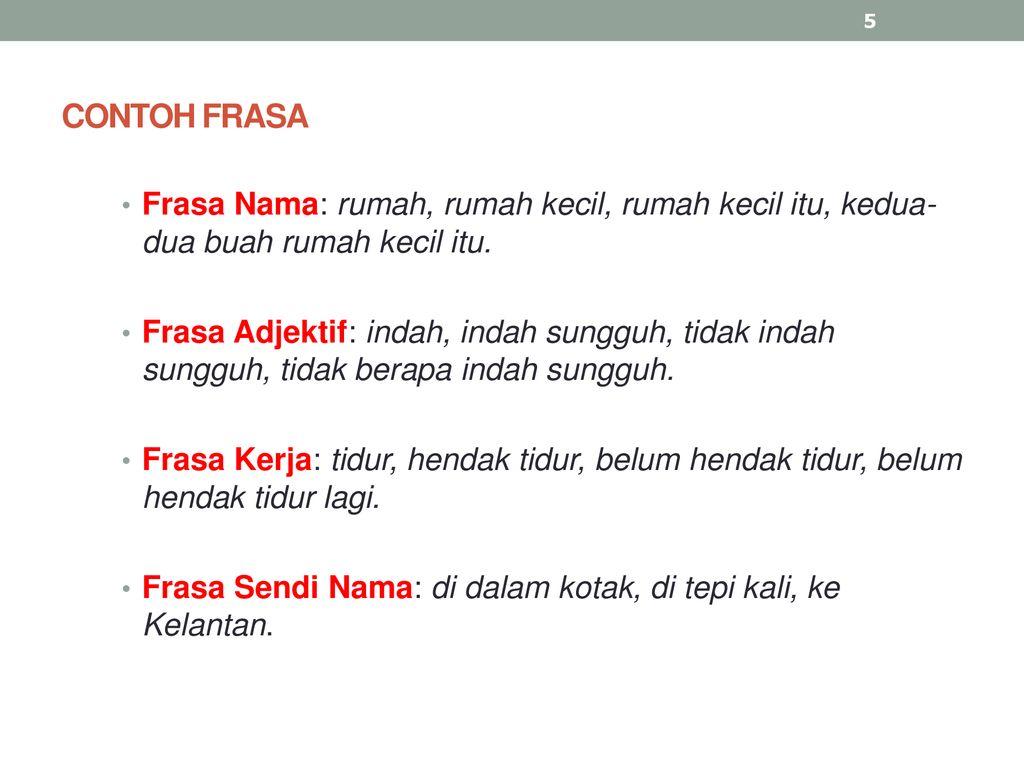 Frasa Nama Dan Frasa Adjektif Ppt Download