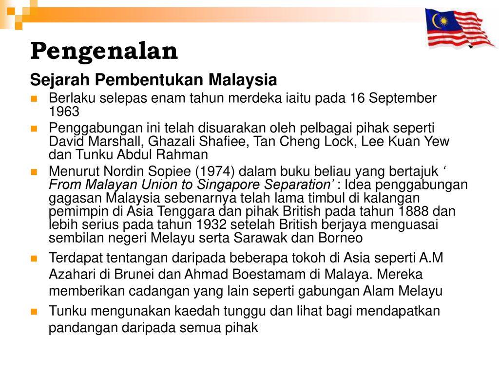 Pembentukan Malaysia Ppt Download
