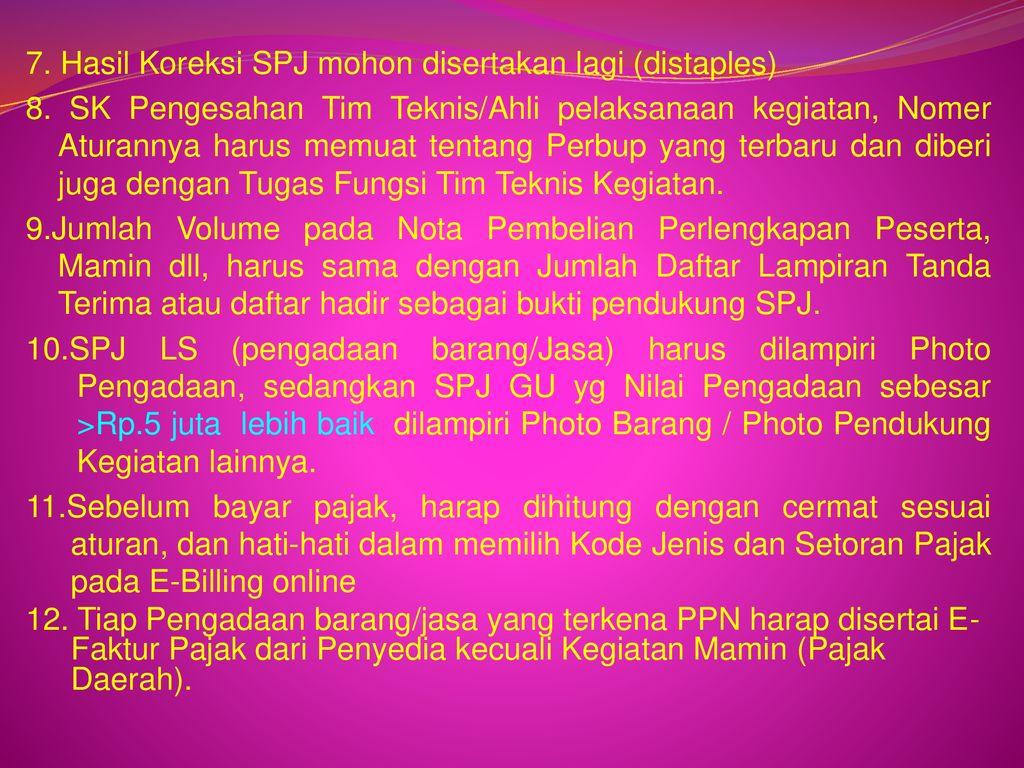 Pertanggungjawaban Keuanganspj Ppt Download