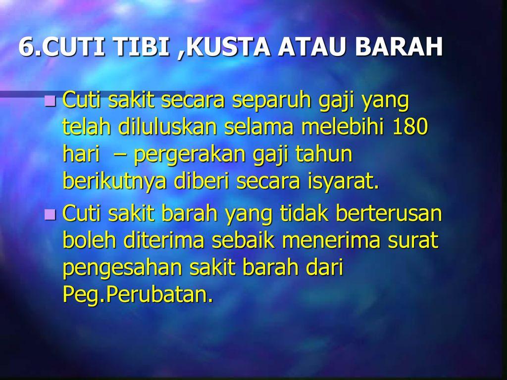Bab C Cuti Ppt Download