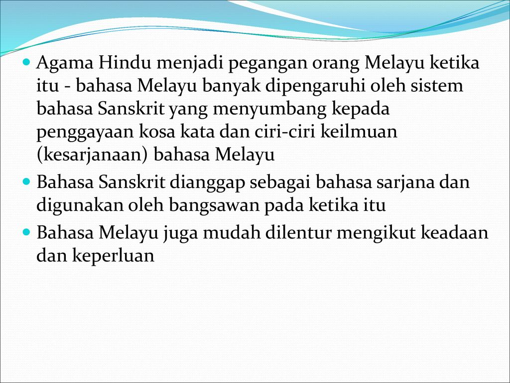 Sejarah Dan Perkembangan Bahasa Melayu Ppt Download