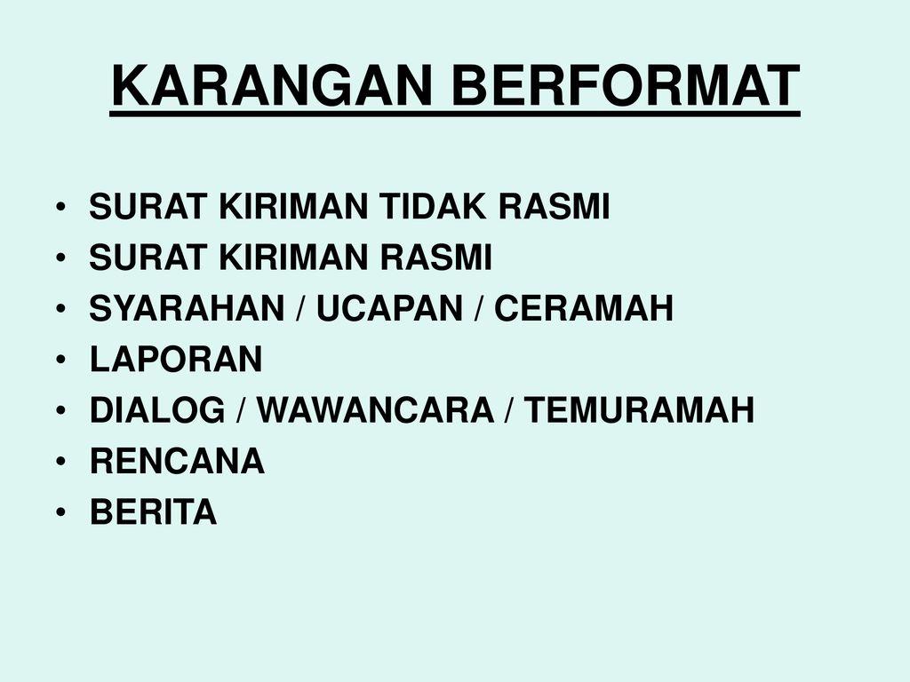Panduan Menjawab Kertas Bahasa Melayu Spm Kertas 1103 1 Ppt Download