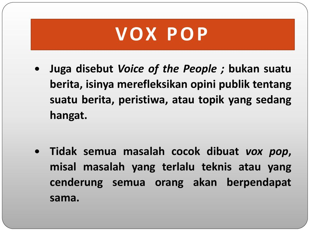 News Glossary Ppt Download