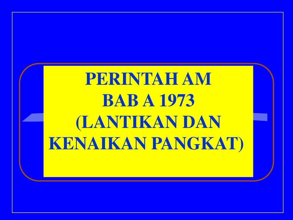 Perintah Am Ppt Download