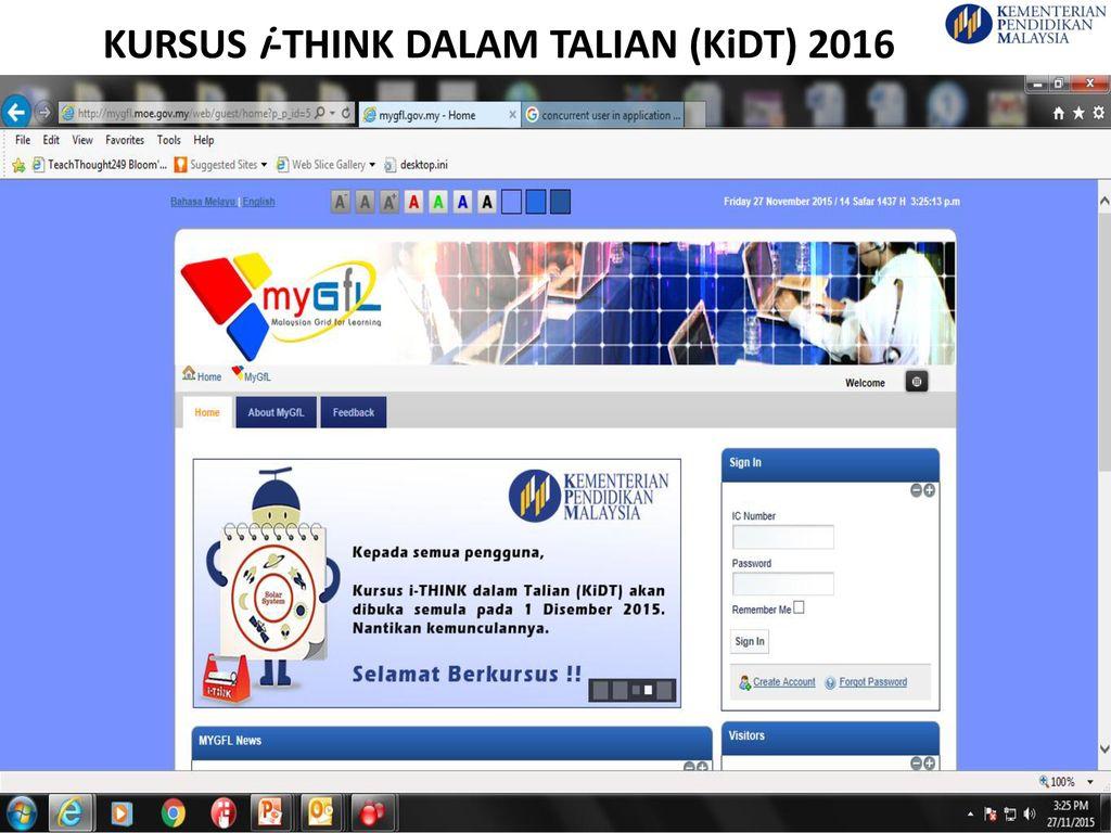 Kursus I Think Dalam Talian Kidt Ppt Download