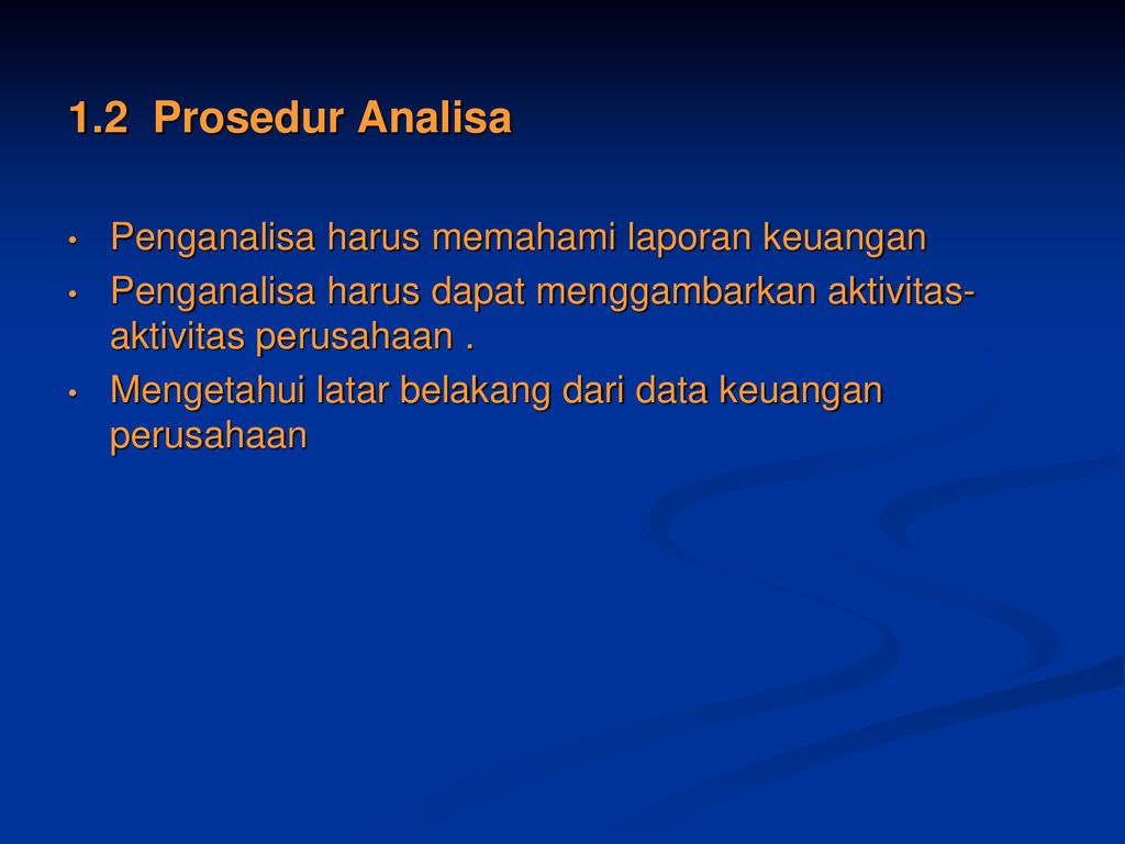 Bagian 2 Analisa Perbandingan Laporan Keuangan Ppt Download